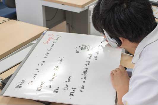 PBL型(問題解決型)授業