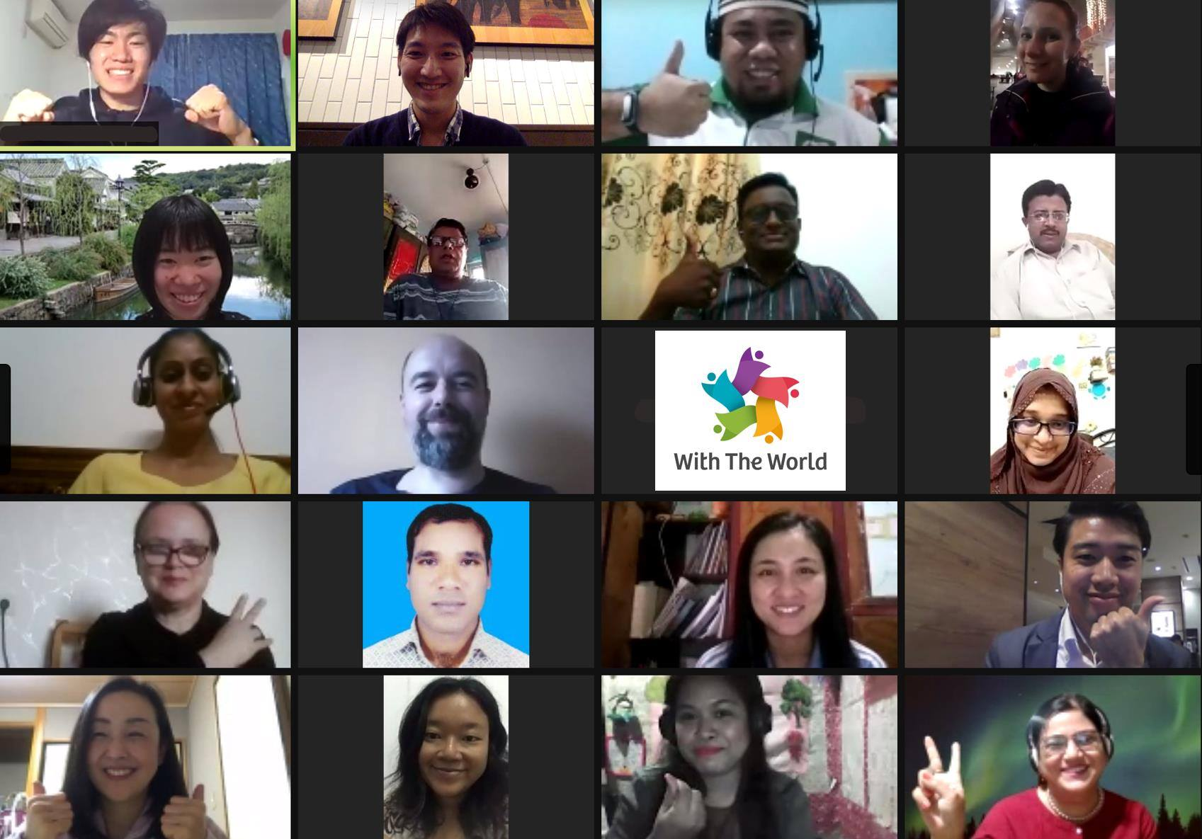 潜入レポート:世界各国の先生と教育について考える場 WithTheWorld